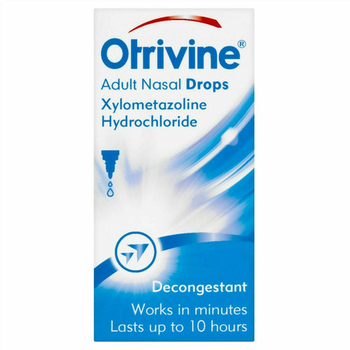Otrivine Nasal Drops 10ml for Adults