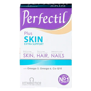 Perfectil Vitabiotics Dual Pack Triple Active Skin Hair & Nails Tablets (56)