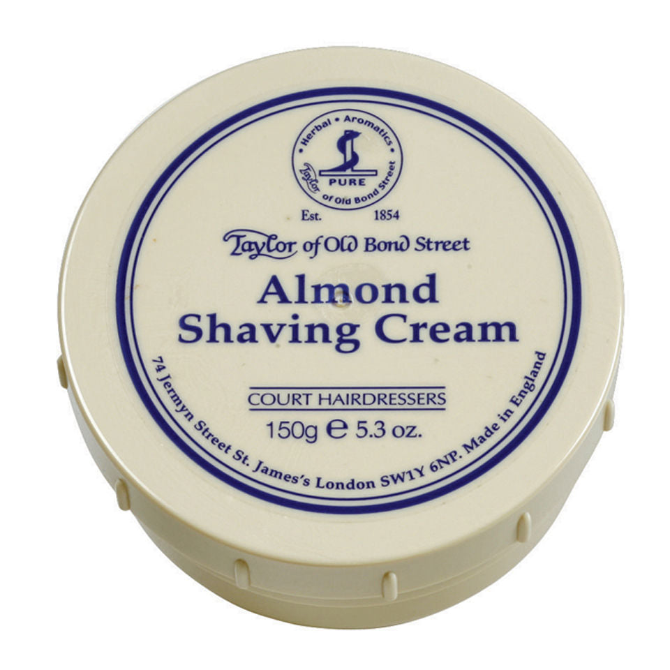Taylor of Old Bond Almond Shaving Cream Bowl 150g