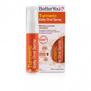 BetterYou Turmeric Oral Spray 25ml