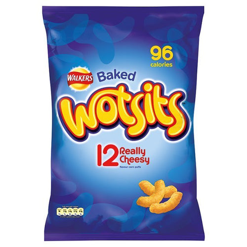 Walkers Wotsits Cheesy Flavour 12 pack