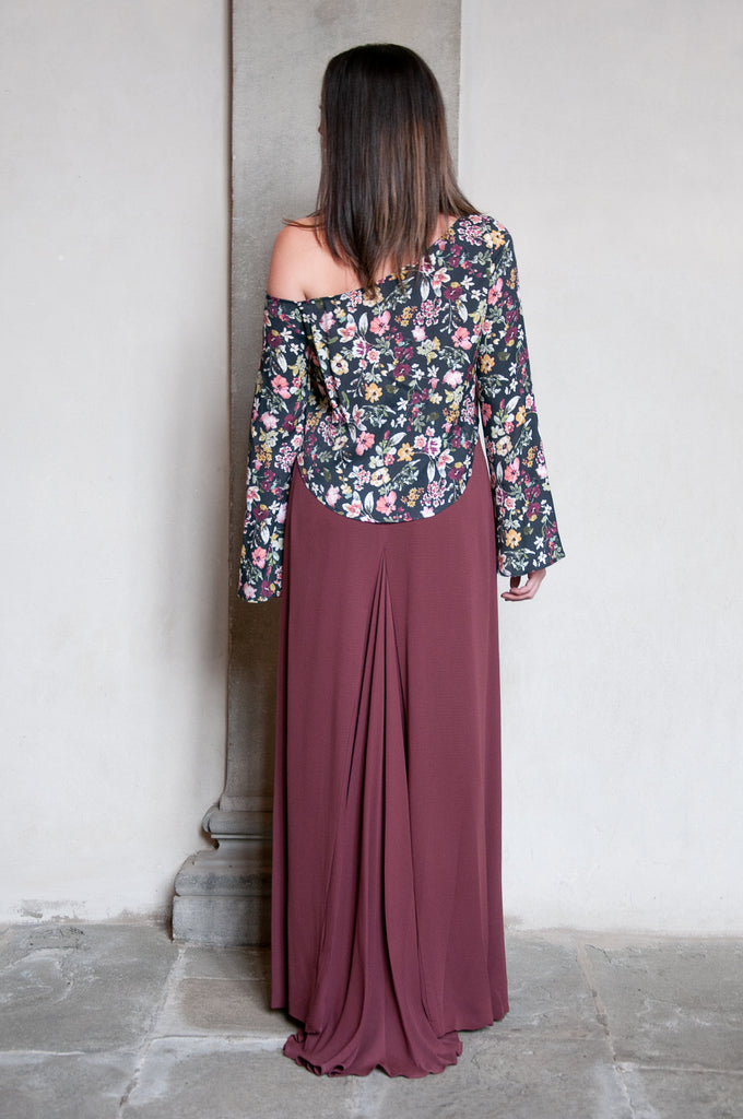 Arum Lily Maxi Skirt