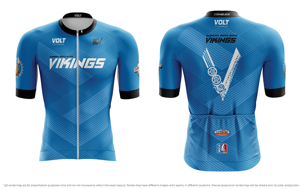 Biking Vikings 2021 XC Race Jersey