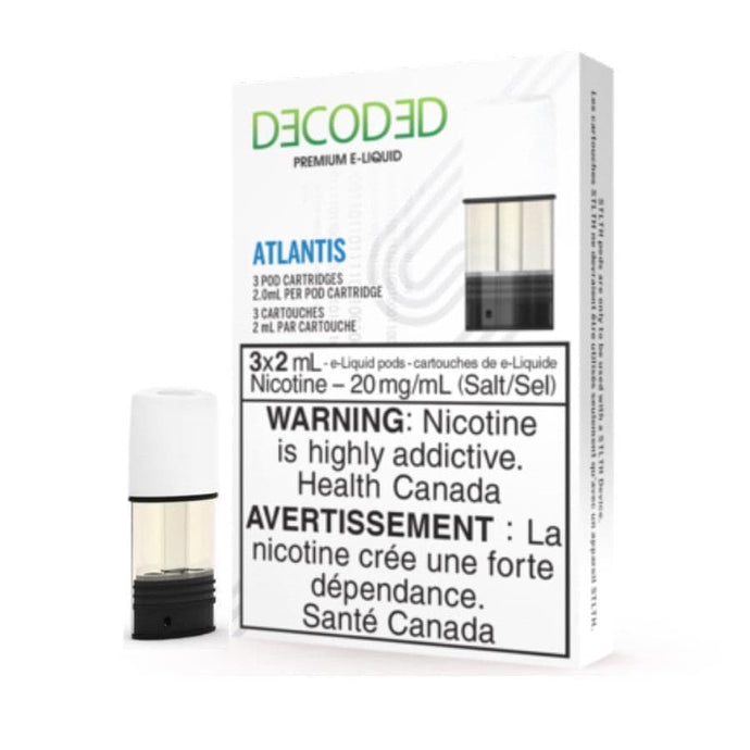 STLTH Decoded Atlantis Pods