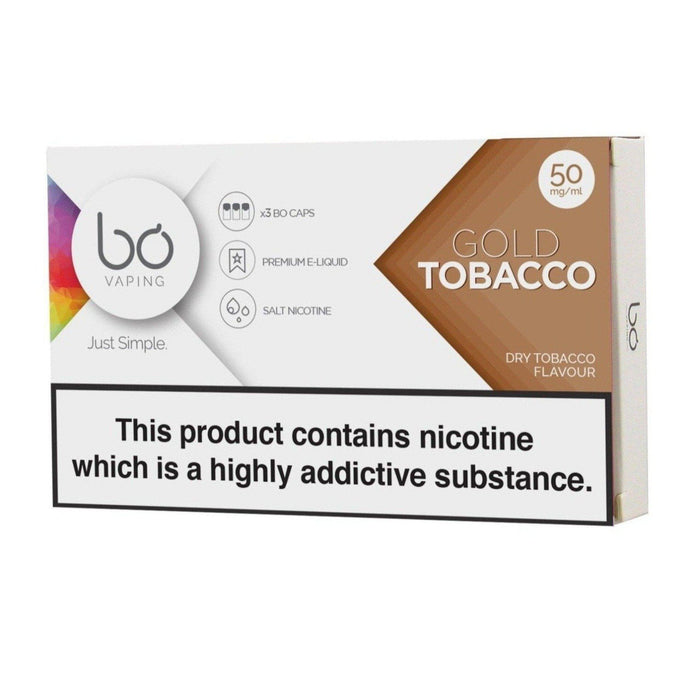 Bo Pods Gold Tobacco