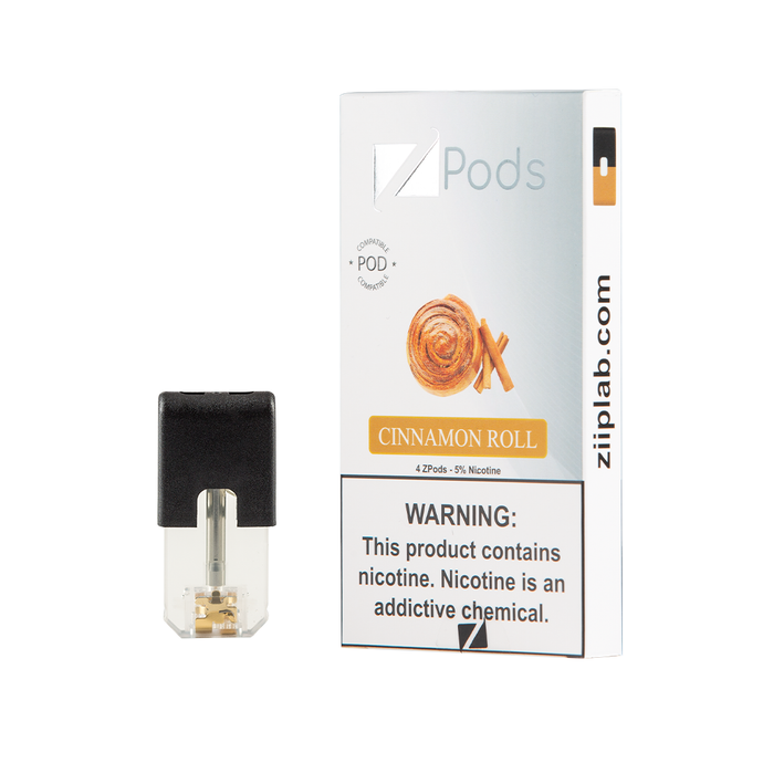 ZiiP J Pods – Cinnamon Roll