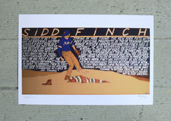 Will Johnson Art Print - Sidd Finch