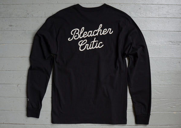 Bleacher Critic - Script Long Sleeve
