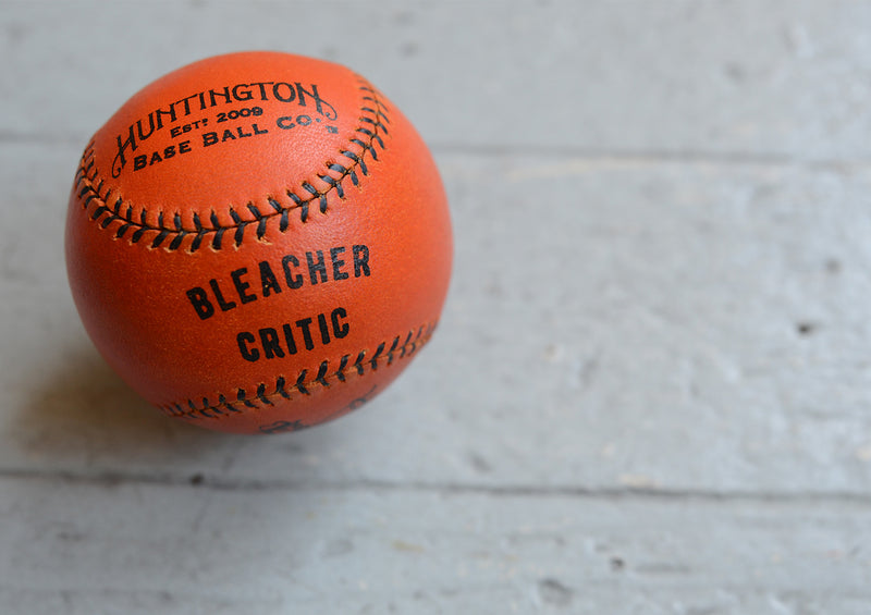 Huntington Base Ball Co. - BC Finley Ball Orange/Black