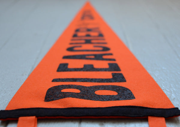 BC Oxford Pennant - Orange/Black