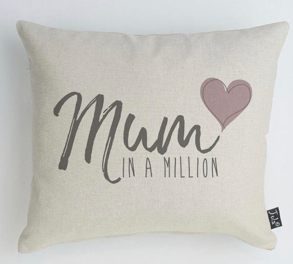 Mum in a Million Cushion - 46 x 24cms