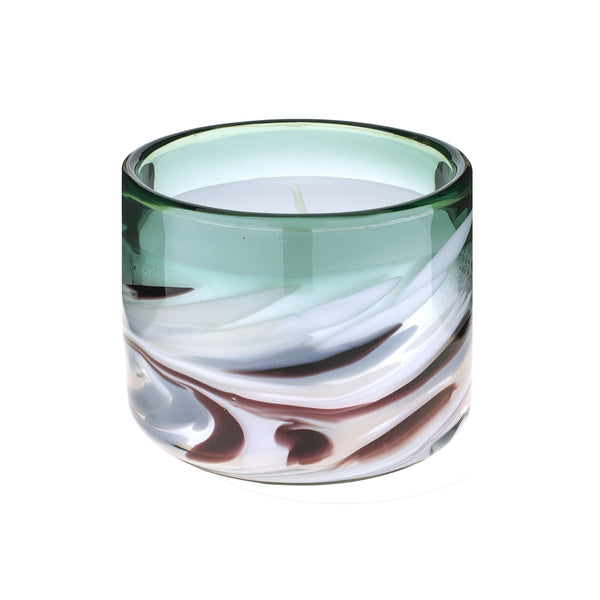 Athena Emerald Single Wick Candle