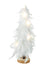 White Feather Tree With LED Lights
