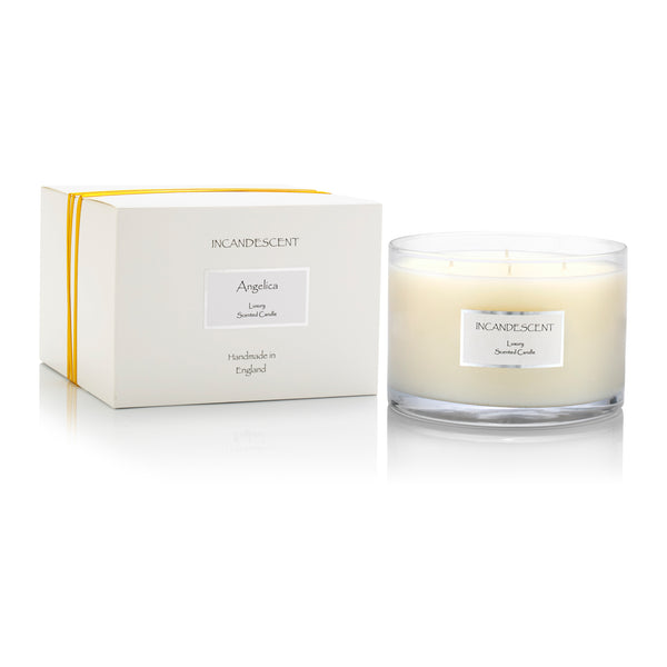Angelica Large 4 Wick Tank Candle