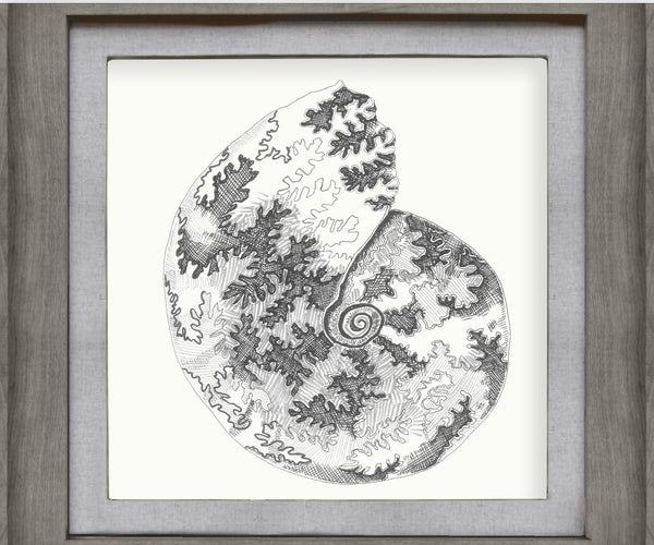 Voyage Maison Framed Stone Spiris Picture