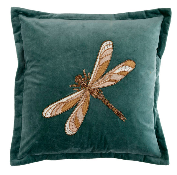Aria Teal Dragonfly Voyage Maison Cushion