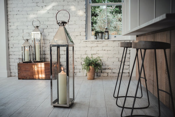 Stainless Steel Large Chelsea Lantern