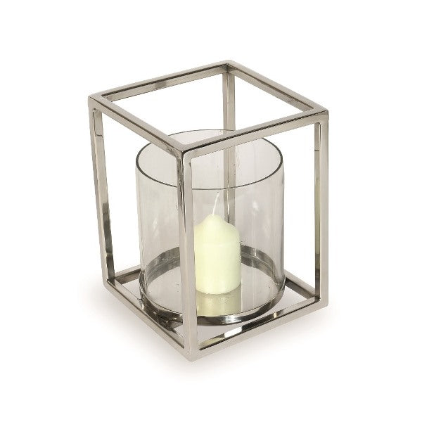 Geometric Hurricane Lantern Large