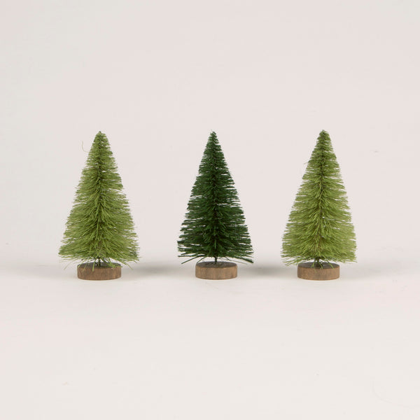 Mini Christmas Trees - Set Of 4