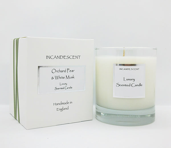 Orchard Pear & White Musk  Signature Candles