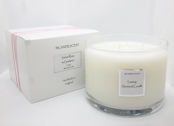 Velvet Rose & Gardenia Large Signature Candle