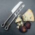 Polished Knot Traditional Cheese And Soft Cheese Knife Set