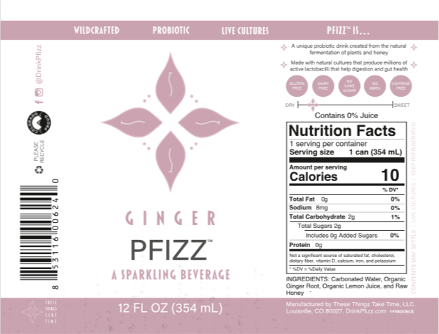 Ginger Pfizz 4-Pack