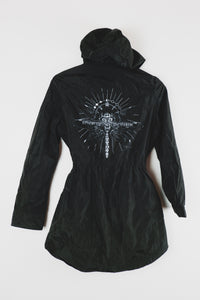 Gold Accent Dragonfly Raincoat