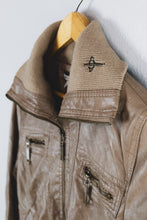 Load image into Gallery viewer, Faux Leather Bomber - Sigil Collection