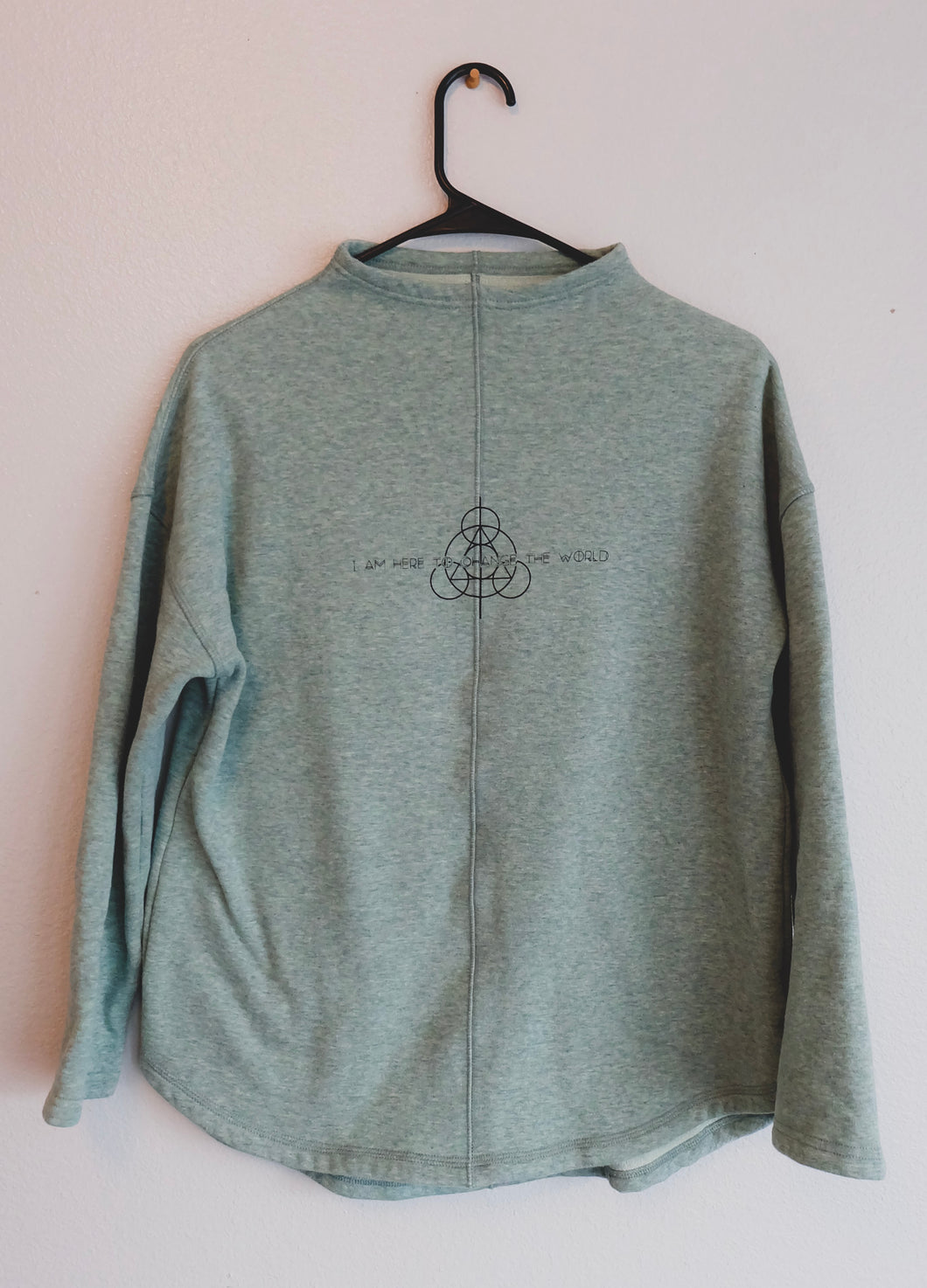 Sea Foam Dragonfly Pullover