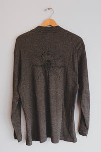 Mottled Bronze Dragonfly Sweater