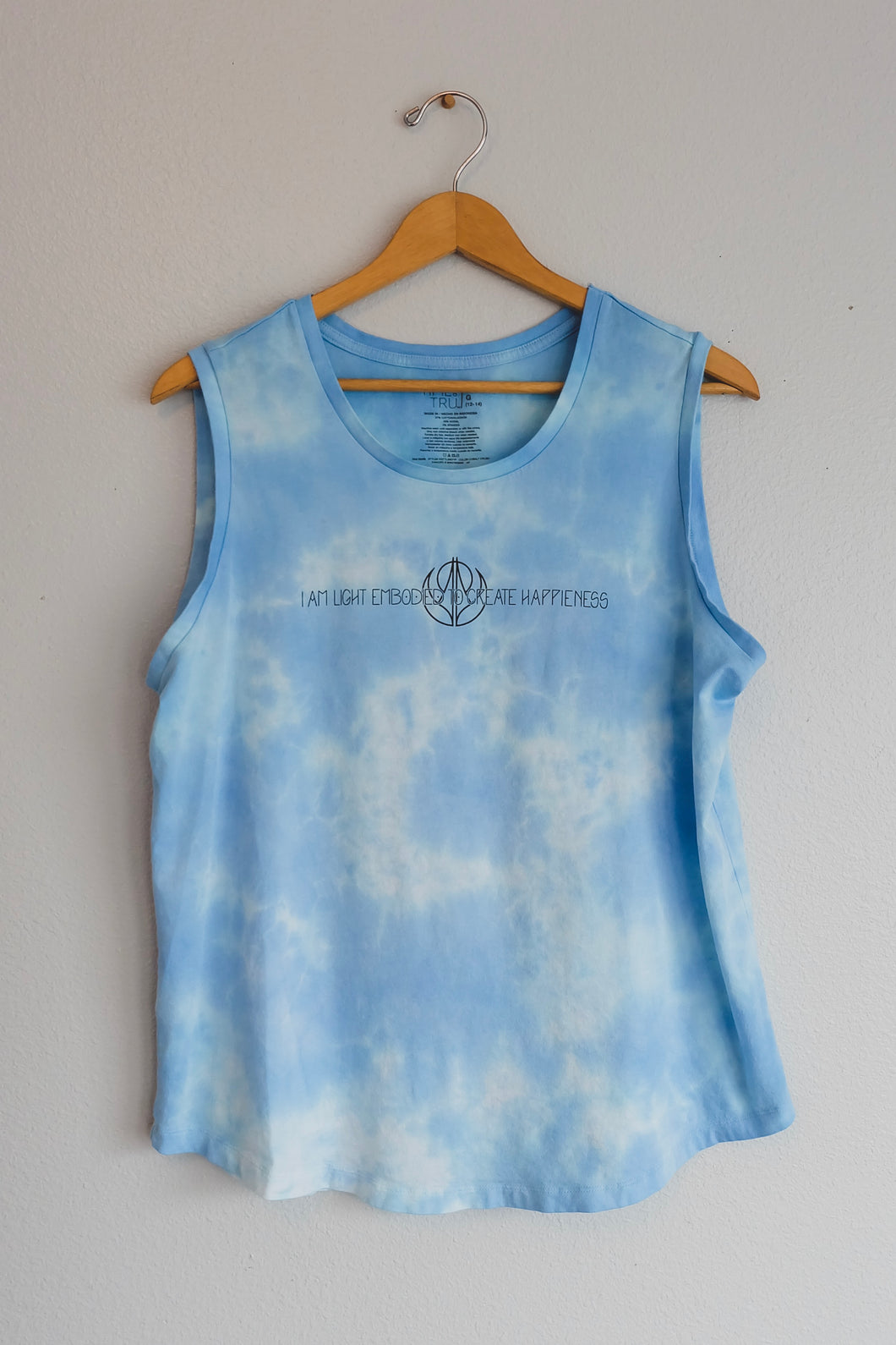 In The Clouds Sleeveless Bumble Bee Top