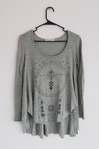 Olive Dragonfly Long Sleeve