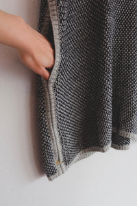 Knit Turtleneck Poncho - Sigil Collection