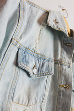 Load image into Gallery viewer, Crop Denim Jacket - Sigil Collection