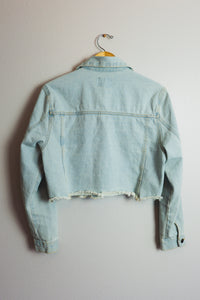 Crop Denim Jacket - Sigil Collection