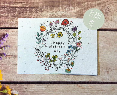 Plantable Mother's Day greetings card (Erika)