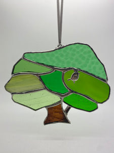 Stained glass tree (Glass)