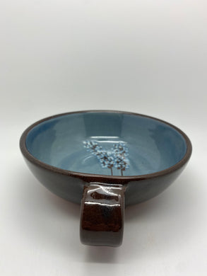 Lavender bowl with handle (SVC)