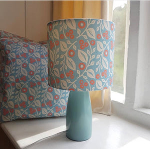 Light/lamp shade Lucy coral (BLUE)
