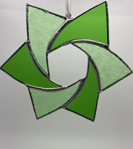 Stained glass Celtic star (Glass)