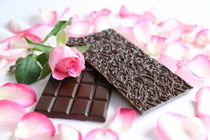 Persian rose and dark Ecuadorian chocolate (FANDT)