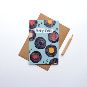 Daddy cool greetings card (STECO)