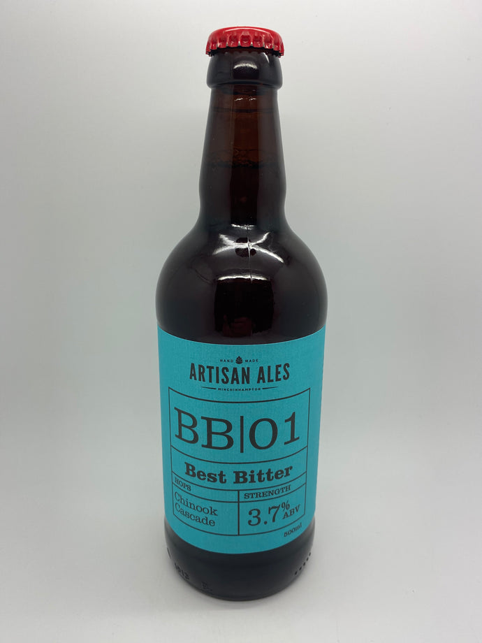 BB 01 best bitter 500ml (Artisan ales)