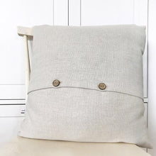 Load image into Gallery viewer, Linen pea cushion (CMT 78)