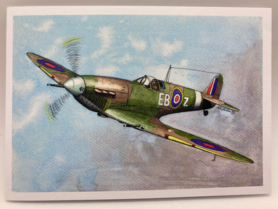 Supermarine spitfire greetings cards (Broody)