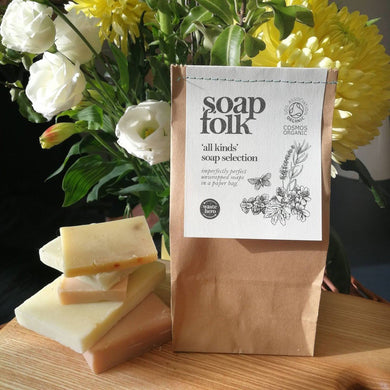 """All kinds"" soap selection bag (Soap folk)"