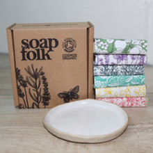 Load image into Gallery viewer, Limited edition travel soap gift set and mini soap gift set