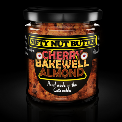 Cherry bakewell almond butter (NIFTY)