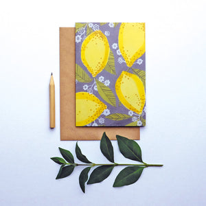 Lemon greetings card (STECO)